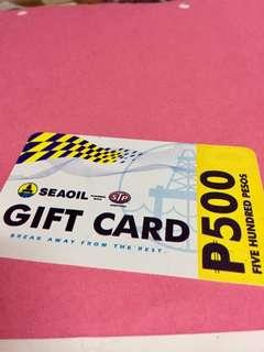 Seaoil gascard worth php10,000