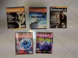 🚚 BBC Knowledge Magazines