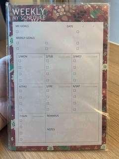 🚚 BN Floral Weekly Planner