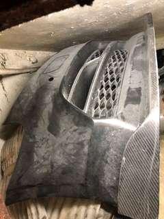 Audi Q7 頭泵把連碳纖頭唇