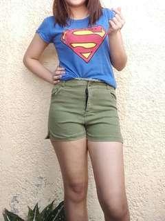 Green Sexy Shorts