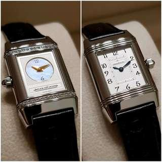 [LIKE NEW!] Jaeger-LeCoultre Lady's Reverso Duetto (Under Warranty)