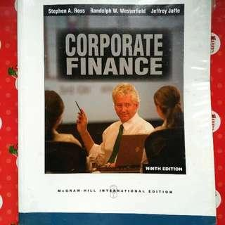 Corporate Finance (9th Edition)