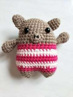 Monster <Brown> (Knitted)