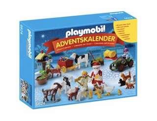 Playmobil 6624 Advent Calendar - Christmas at the Farm