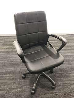 Brand New PU Leather Office Chairs - 2 in a set