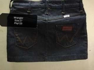 Wrangler Maong Skirt