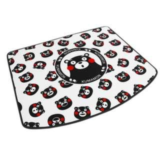 Car Boot Tray (Carpet Suede Material) Kumamon BT40-43
