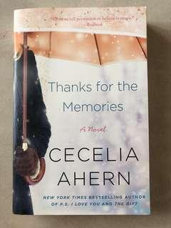 Thanks for the Memories by Cecelia Aher