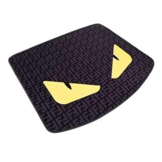 Car Boot Tray (Carpet Suede Material) BT36 Devil Eyes