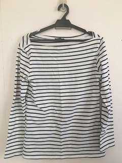 RM15 Stripe Shirt White