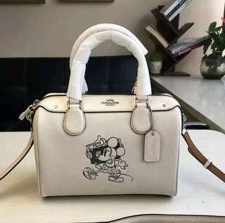 Clearance Sale! Orig Coach Mini Bennet Minnie Mouse