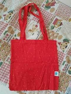 Soul jacquered cotton tote bag