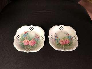 Vintage Hand Painted dish plate