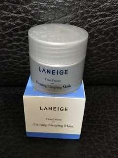 (包郵) Laneige Firming  Sleeping Mask Sample