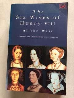 The Six Wives of Henry VII - By Alison Weir