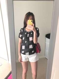 Blacknwhite blouse