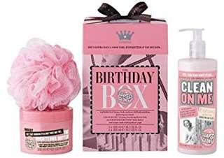 🚚 Soap & Glory birthday box