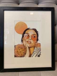 Watercolor & pencil on paper