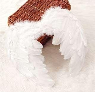 Kids Feather Wing Costume with accessories