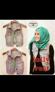 Lolly vest / Rompi jeans / outer