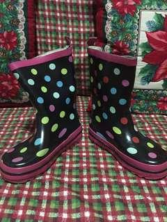 Preloved rain boots for girls