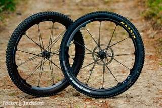 Crankbrothers iodine 2 wheelset