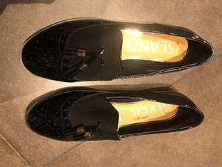 River Island black loafer
