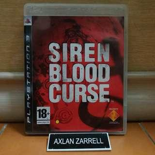 Playstation 3 Games : PS3 Siren Blood Curse