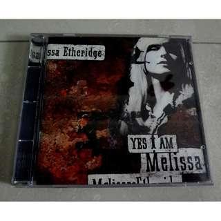 Melissa Etheridge CD Yes I Am