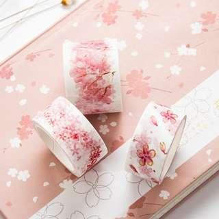 🚚 sakura washi tape