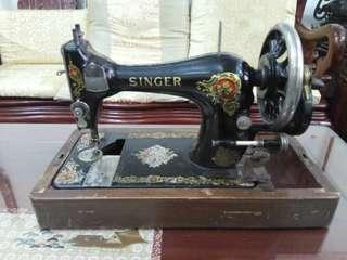古董 SINGER手搖縫紉機