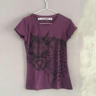 Zara Black Phanter T-shirt
