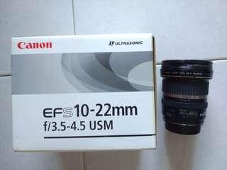 Canon EFS 10-22mm F3.5-4.5
