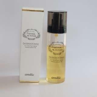 Amittie Natural Oil To Foam Cleanser 150ml by Langsre