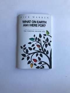 🚚 Rick Warren the purpose driven life