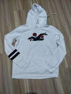 Hollister rose hoodie sweater