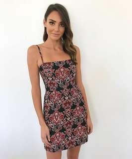 Kookai April Jacquard Mini Dress Size 36