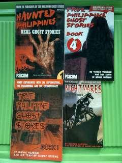 Philippine Ghost Stories (Sold as Bundle)