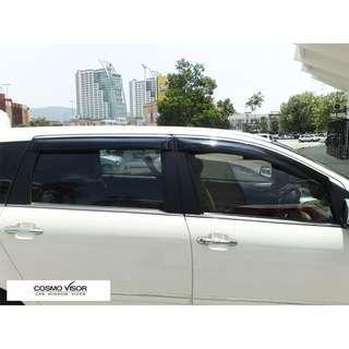 CHERY EASTAR / B14 / V5 / DESTINY / CROSS 2009 - present Door Visor Air Press Car Window Visor  COSMO