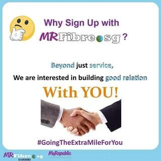 Why mrfibre.sg?