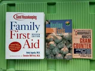 Health Books (Sold as Bundle)