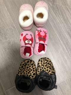 To bless Baby Shoes