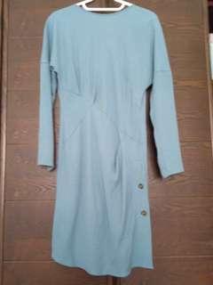 Uniqlo Blue Dress