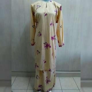 Baju Kurung (cream)