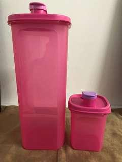Tupperware Brands Fridge Water Bottle