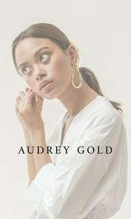 SALE‼️AUDREY GOLD