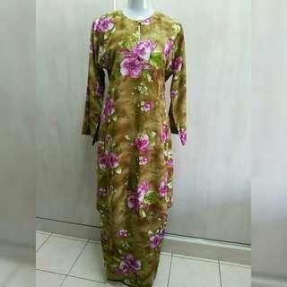 Baju Kurung (brown)