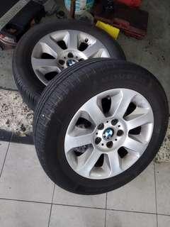"""BMW E60 Original 16"""" Rim with tyres"""