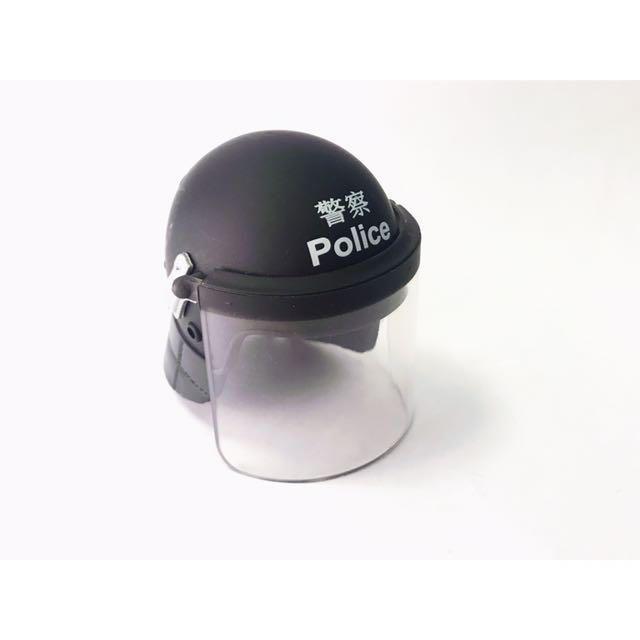 1:6 Figure 兵人 防暴頭盔 沙展 警長 機動部隊 PTU 香港警察